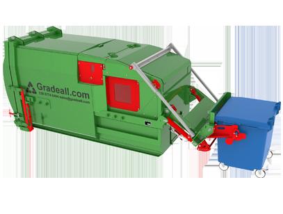Gradeall GPC S9 Bin Lift 09