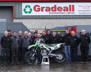 Gradeall International van