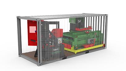 Shipping options for Gradeall equipment