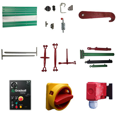 Various spare parts