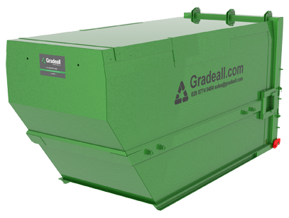 Gradeall C15 waste container 03
