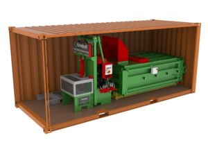 MK2 Tyre Baler, Tyre Rim Separator, Tyre Recycling, Tyre Waste Management